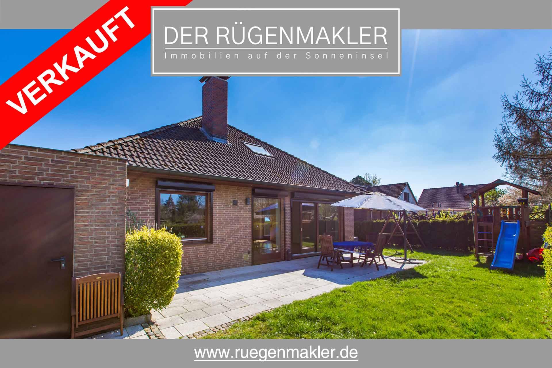 Ruegenmakler - Einfamilienhaus Bungalow in Gingst verkauft