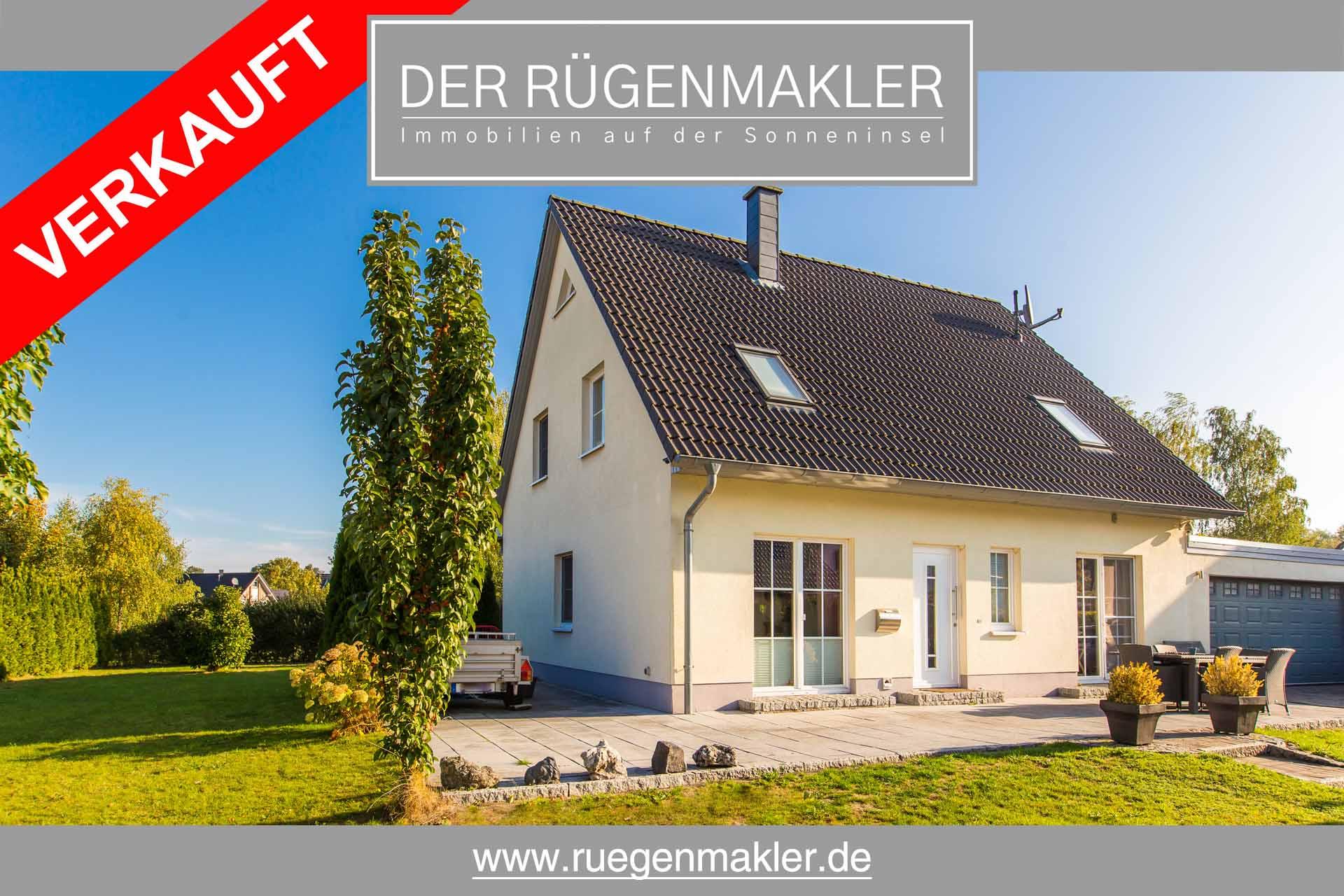 Ruegenmakler - Einfamilienhaus in Glowe auf Rügen erkauft